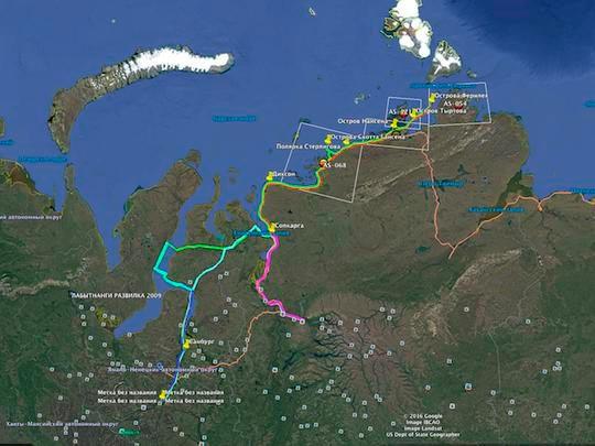 "Courtesy: Polar Island Radio Expedition ""The Legends of the Arctic"" / Victor RW0BG"